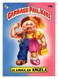 Garbage Pail KidsGpk Cards, Art Garbage, Old Schools, Fave Gpk, Remember, Glandular Angela, Comics Book, Pale Kids, Garbage Pail Kids