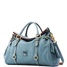 Bag of the Day: Hand Bags, Handbags Shoes Clothes, Dooney Bourke Handbags, Style, Dusty Blue, Color, Florentine Satchel, Purses Handbags