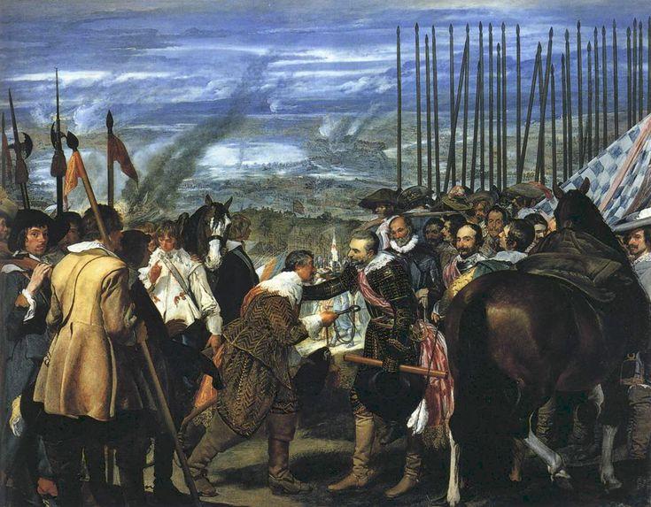 La rendición de Breda, de Diego Velázquez.