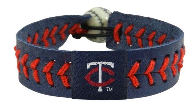 Minnesota Twins Baseball Bracelet - Team Color Style Z157-7731400244
