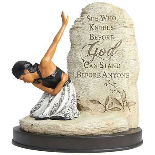 FSWK01 She Who Kneels figurine, by African American Expressions