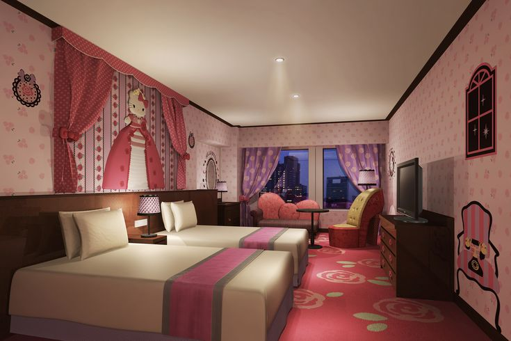 Keio Plaza Hotel Starts Hello Kitty Rooms | Business Wire