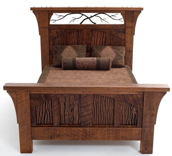 11 best bungalow furniture collection images on pinterest for Log style beds