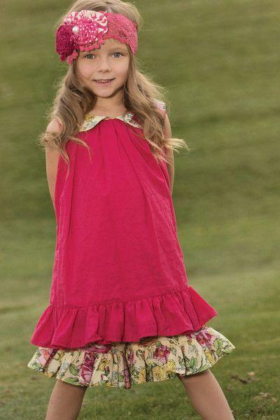 Raspberry Isabelle Dress | 261 RAS