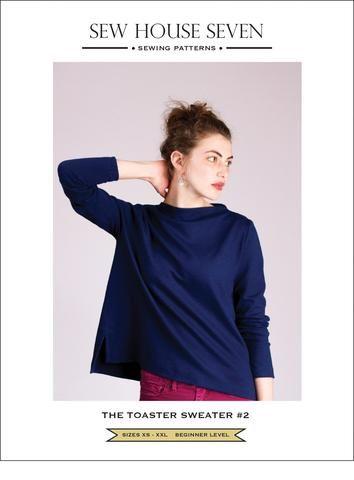 Toaster Sweater #2 PDF pattern