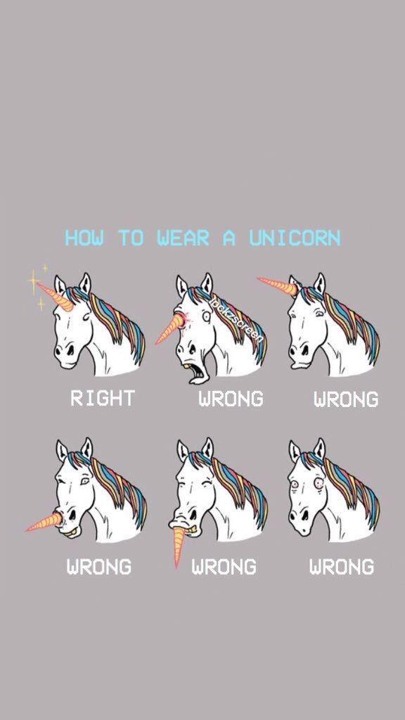as 6 faces de um unicornio