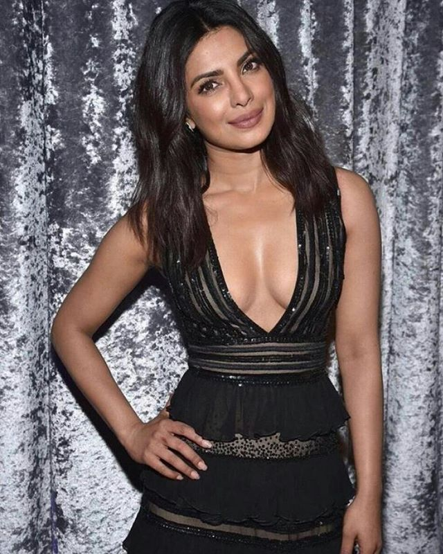 Priyanka Chopra In Black at White House Correspondents Dinner #priyankachopra #bollywood