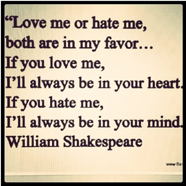William Shakespeare Poetry Quotes: Those Words I Love...