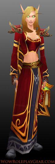 Scarlet Sin'dorei Robes