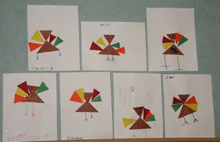 Turkeys and triangles