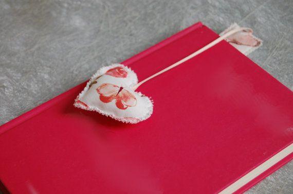 Segnalibro con cuore - heart bookmark