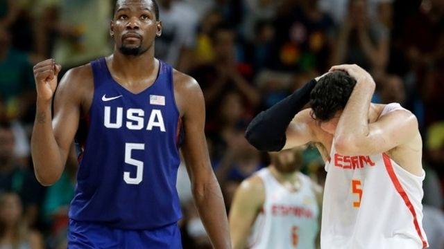 Basket: les Etats-Unis à nouveau en finale