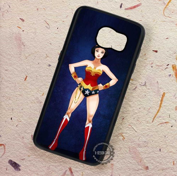 Snow White Wonder Woman - Samsung Galaxy S7 S6 S5 Note 7 Cases & Covers