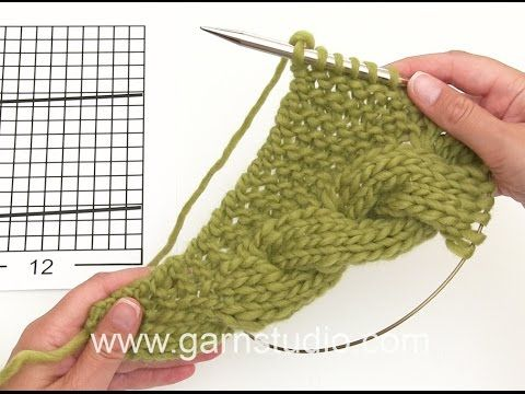 DROPS Knitting Tutorial: How to work the beginning of the shawl in DROPS 169-29 - YouTube