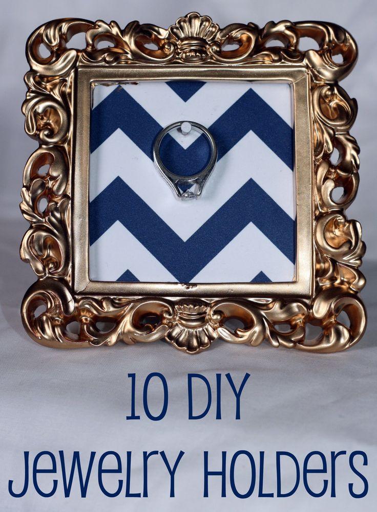 10 DIY Jewelry Holders
