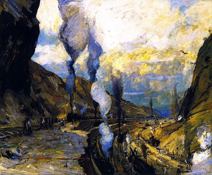 Culebra Cut Jonas Lie - 1913