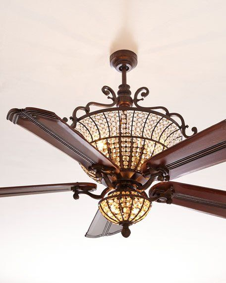 Unique Ceiling Fans With Chandeliers: 9 Best Chandelier And Ceiling Fan Images On Pinterest