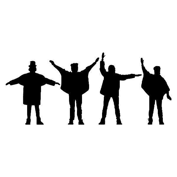 Vinilos Decorativos: The Beatles 2