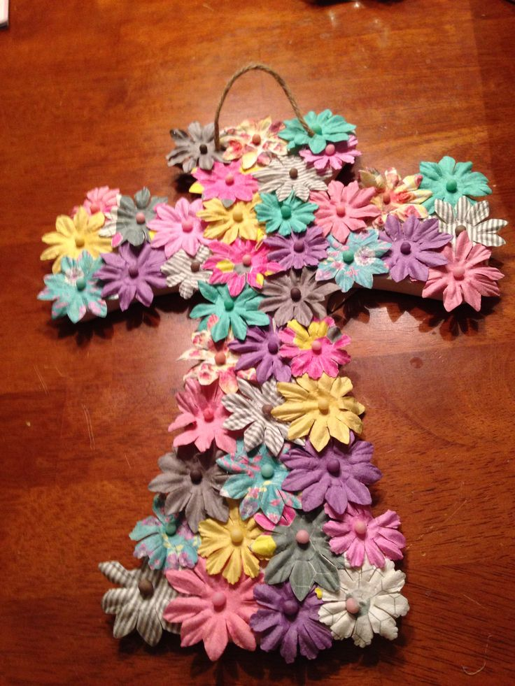 I made the crosses
