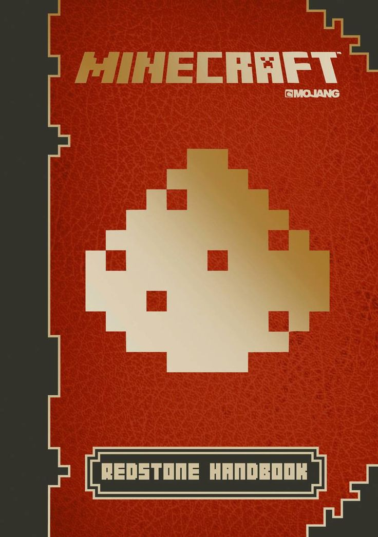 MINECRAFT OFFICIAL MOJANG REDSTONE HC UPDATED EDITION
