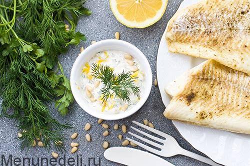 Сметанный соус к рыбе