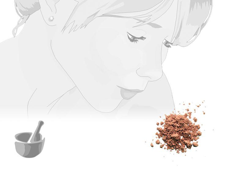 Ricetta fai da te: Fondo Minerale per pelli chiare