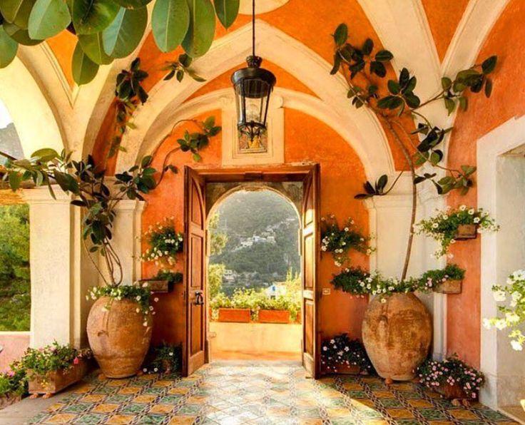 "departmentofinteriors: ""Villa Andres Positano, Italy """