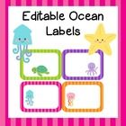 These fun labels are editable to suit your needs.  Name tags, notebook labels, classroom labels, or whatever else you can use them for!  8 color ta...