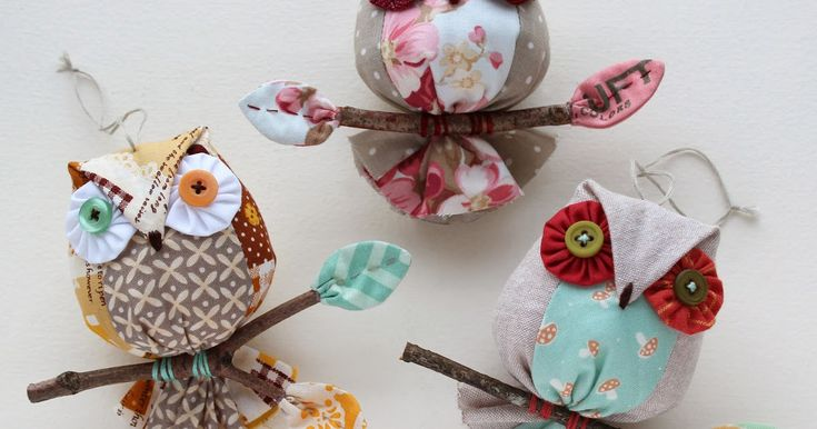 I'm currently working on a new owl ornament pattern requested by Kay who has made over 100 of my bird ornaments, and wanted another simple a...