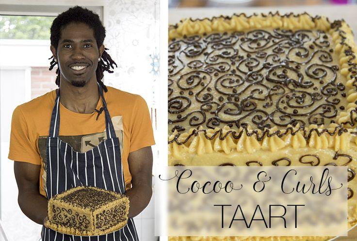 Deze taart is geïnspireerd door Rovanny Frans (beter bekend als 'cocoo and curls') Zijn kleurrijke persoonlijkheid vind je terug in het recept.