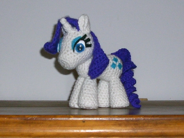 Amigurumi My Little Pony Patron : Mas de 1000 imagenes sobre * MY LITTLE PONY * en Pinterest ...