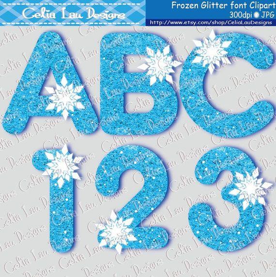 Snow Princess Font Digital Clip Art / Frozen by CeliaLauDesigns, $5.00  https://www.etsy.com/listing/198298965/snow-princess-font-digital-clip-art?ref=sr_gallery_38&ga_search_query=Digital+Letters&ga_order=date_desc&ga_view_type=gallery&ga_page=23&ga_search_type=all