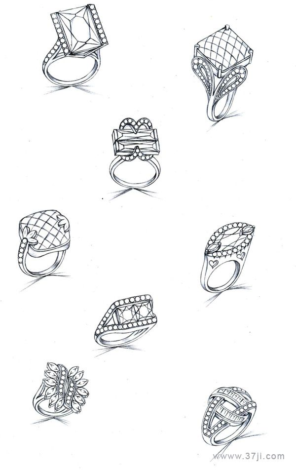 Pin by Prune R on Jewellery Sketches and Rendering in 2019