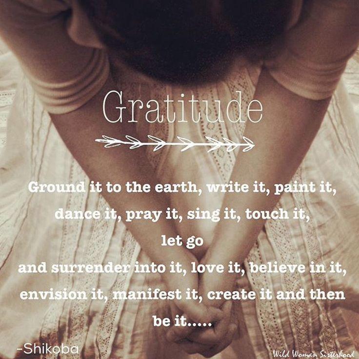 Gratitude                                                                                                                                                                                 More