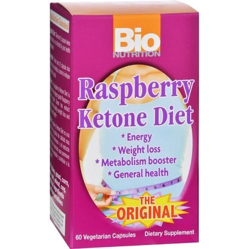 Bio Nutrition Raspberry Ketone Diet - 60 Veggie Capsules