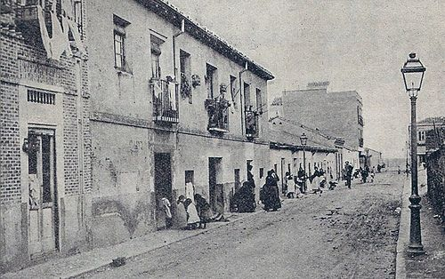 Calle Hernani. Madrid