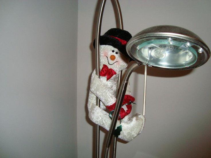 Snowman hanging around