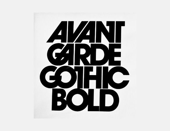 avant garde gothic bold font alternative  still costs