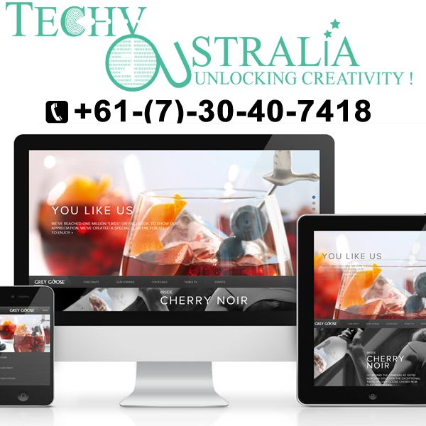 E-commerce wordpress websites Techy Australia +61-(7)-30-40-7418