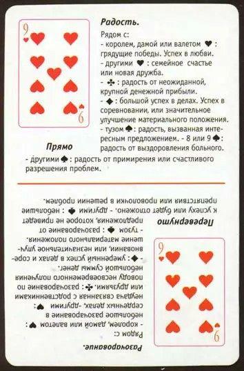 Онлайн гадание да нет на игральных картах расклады толкование карт при гадании на игральных картах 36 карте
