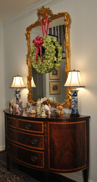 Best 25 Wreath Over Mirror Ideas On Pinterest Mirror