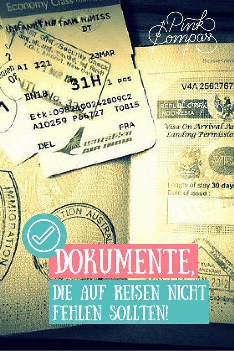 Dokumenten-Packliste: Dokumente, die nicht fehlen dürfen!