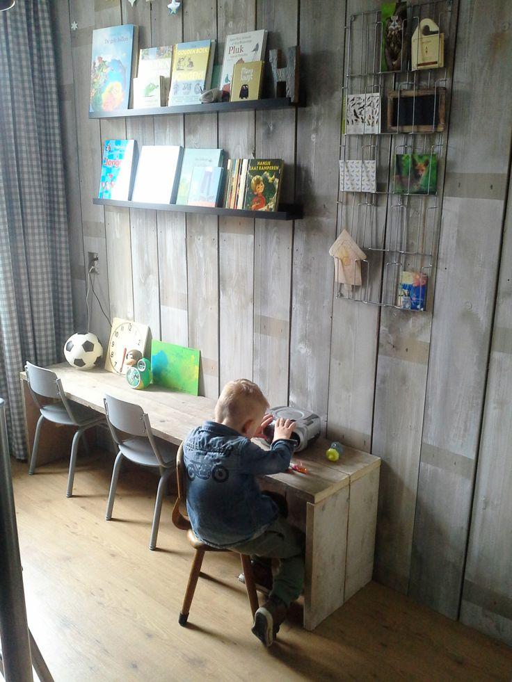 Stoere #werkkamer #speelkamer ! | Witgrijsroze.nl