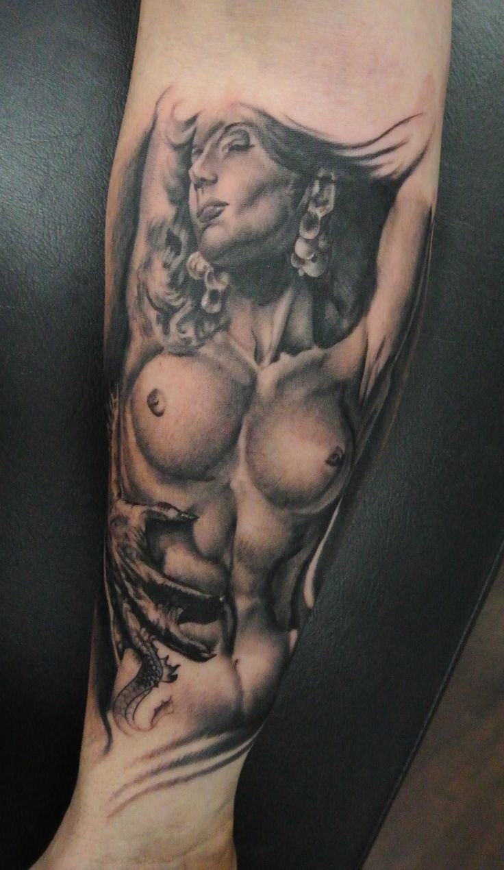 from Aydin the naked lady tattoo