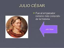 Resultado de imagen para julio cesar emperador romano