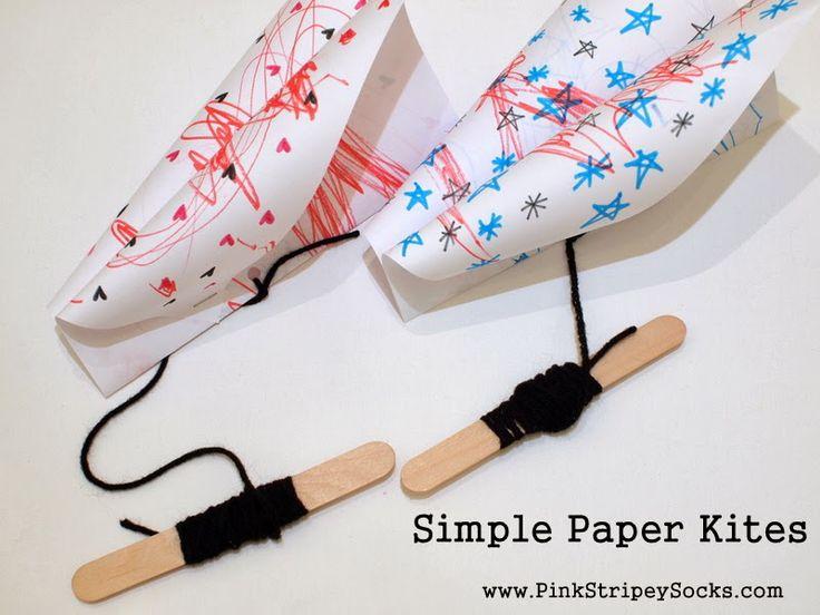 Make Simple Paper Kites