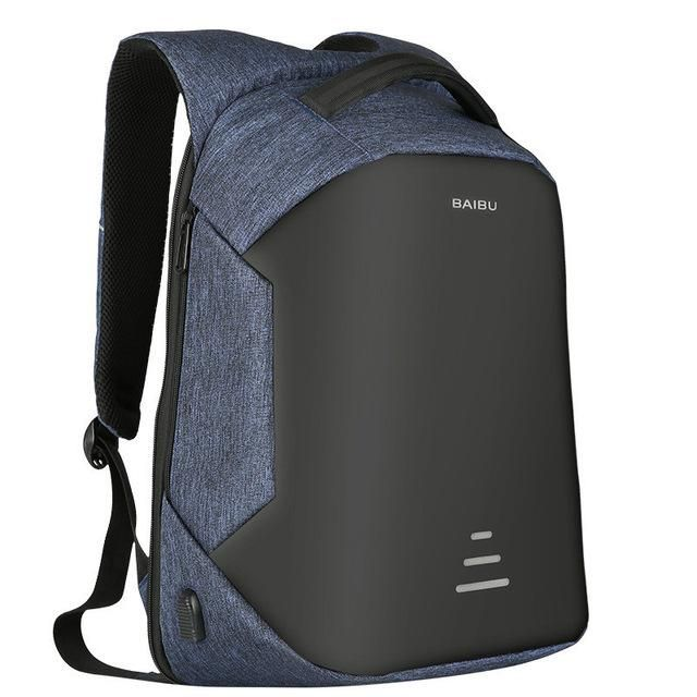 This unique customAnti-theft and Waterproof Laptop Backpack with premium quality materials. Product Details: Material:High-quality Oxford andPolyester Gende
