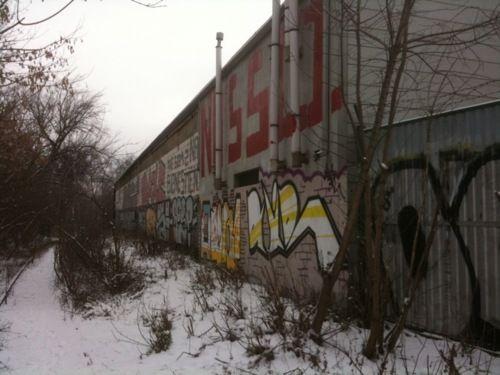 Graffiti Nie Som Z Nas Biznesmeny #zablocie #krakow