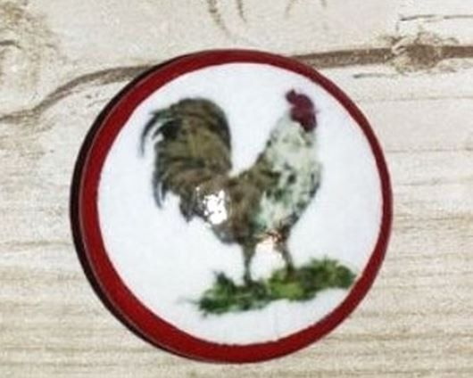 Colorful Farm House Rooster Kitchen Cabinet Knob   Country French, Cottage,  Rustic, Farmhouse, Animal, Door, Handle, Drawer Pull   914A14