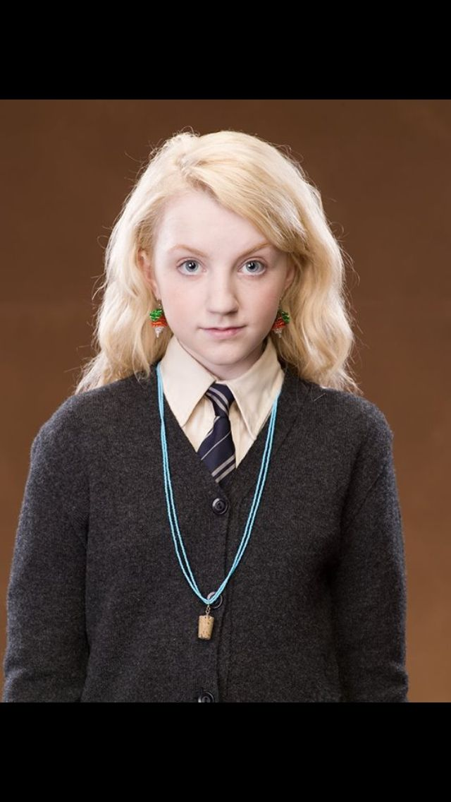 Luna Lovegood Then And Now 25+ best ideas about L...